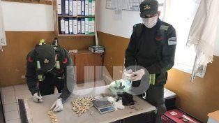Gendarmería secuestró casi 3 kg de cocaína