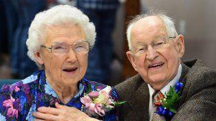 Se llaman Irma y Harvey y están casados hace 75 años