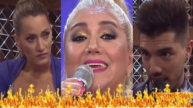 La Bomba Tucumana, Mica Viciconte y Tyago Griffo se pelearon a los gritos