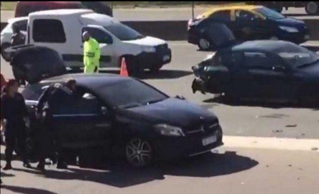 Pinola, involucrado en un accidente de tránsito