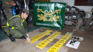 Pasada la medianoche. Un control de Gendarmería detectó el transporte ilegal.