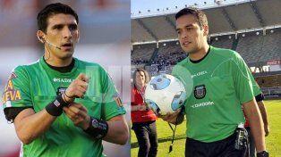 Andrés Merlos y Pedro Argañaráz