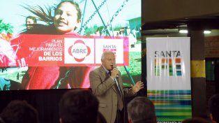 Lifschitz anunció una inversión de $100 millones para mejoras en Las Flores II