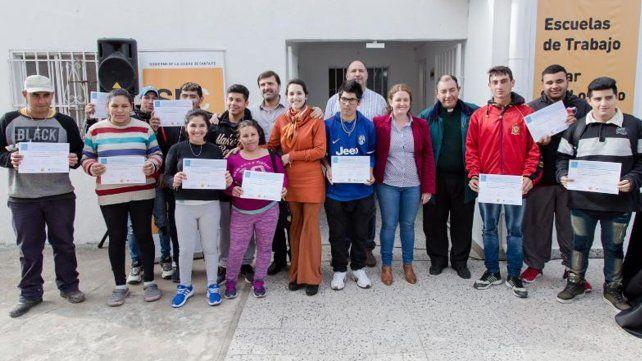 En barrio San Lorenzo, los jóvenes tienen un nuevo espacio de formación