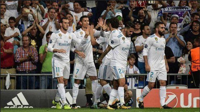 El campeón estrenó el título con los goles de Cristiano Ronaldo