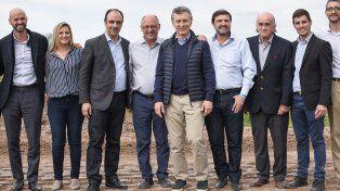 Macri dijo que Santa Fe va a crecer de la mano del trabajo