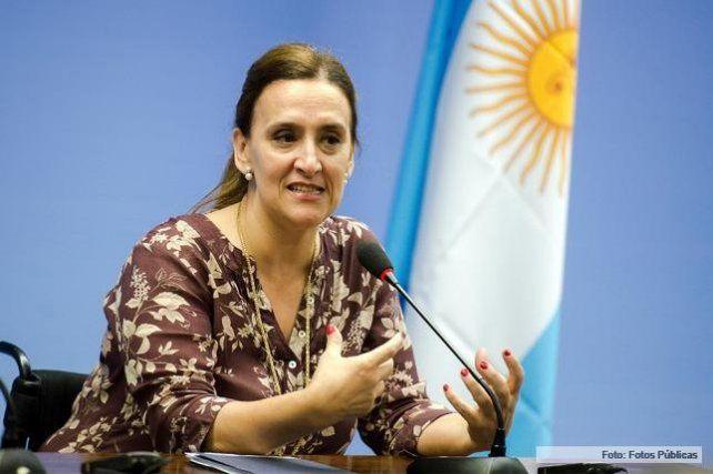 La vicepresidenta Gabriela Michetti visita el norte santafesino este jueves