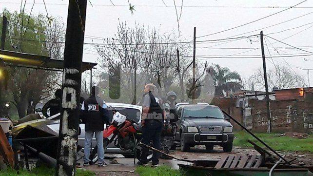 El hecho tuvo lugar en barrio General López