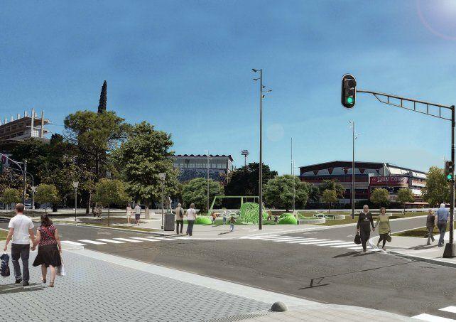 Proponen retirar la rotonda de Unión: habrá semáforos y nuevos carriles para autos