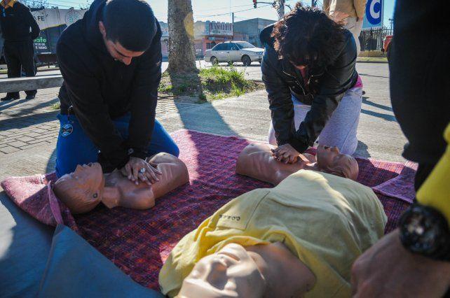 Con acciones en barrios, la ciudad adhiere a la Semana de los Primeros Auxilios