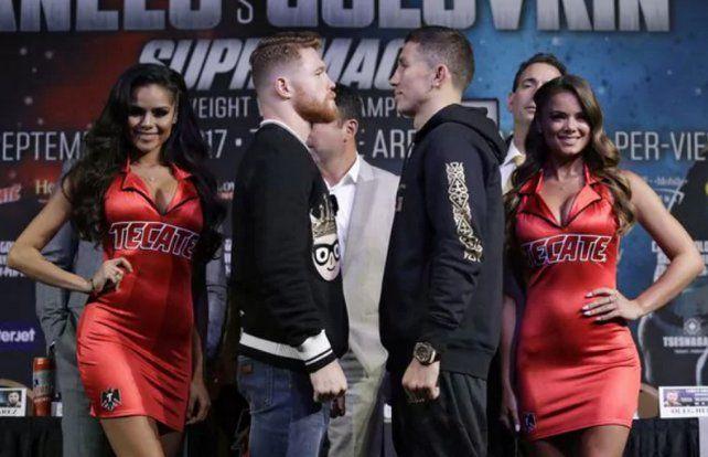 Canelo Álvarez-Genaddy Golovkin: horario y televisión de la verdadera pelea del año