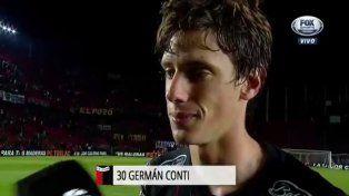 Conti: Me quiero ir bien de Colón el día que lo haga
