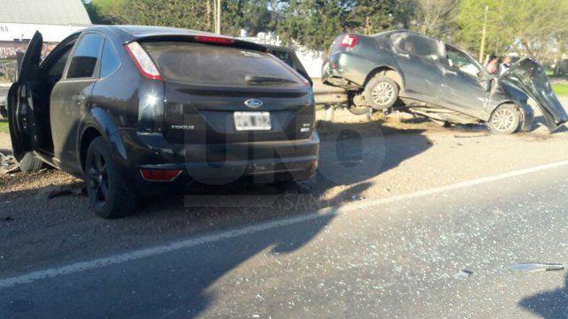 Ya son tres las personas muertas en el violento choque frontal sobre la ruta nacional 34
