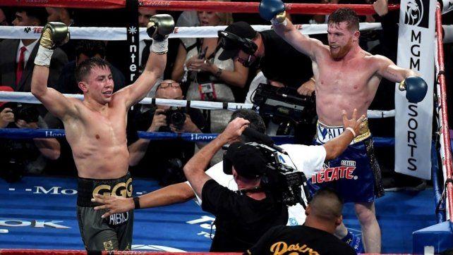 Polémico empate entre Canelo Alvarez y Golovkin en Las Vegas