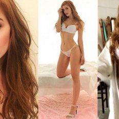 La sensual producción de fotos de Julieta Nair Calvo