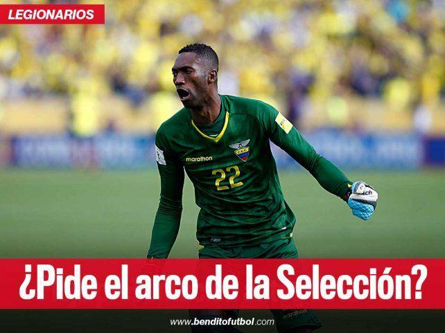 En Ecuador ya piden a Alexander Domínguez para el arco de la Selección