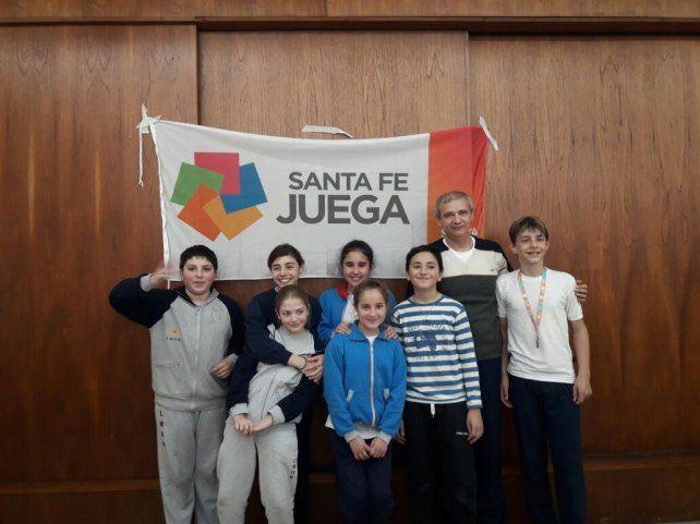 Augusto Saccone representante santafesino en los Juegos Evita