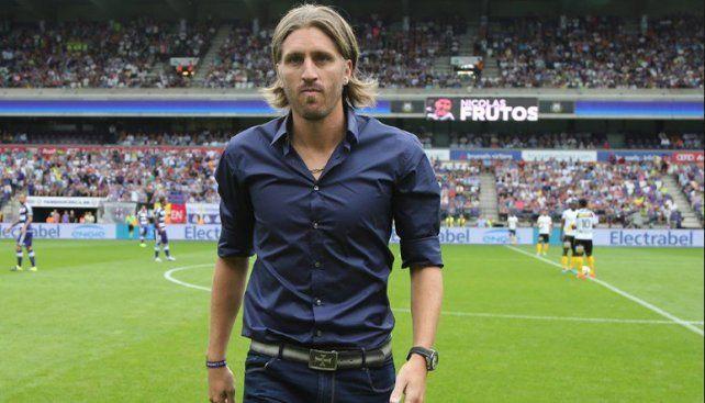 Nicolás Frutos asumió como nuevo entrenador de Anderlecht