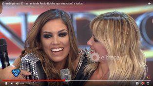 Rocío Robles se emocionó junto a su madre al recordar su historia de vida