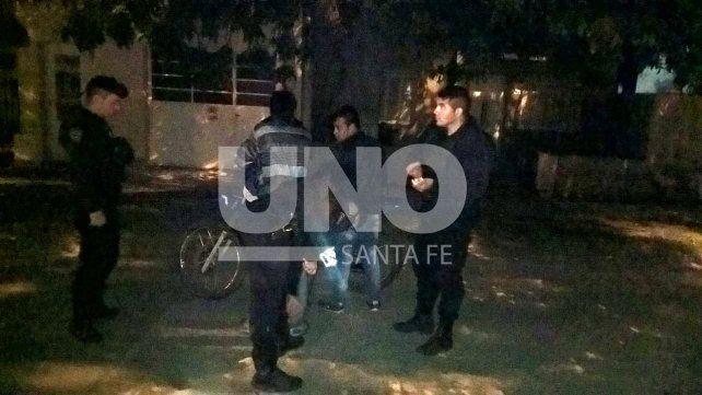 Evadieron un control en el barrio Los Troncos y terminaron presos