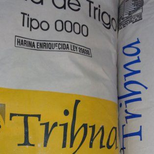 la assal prohibio las harinas 0000 trihna y 000 rufihna