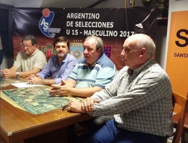 Se presentó el Campeonato Argentino U15