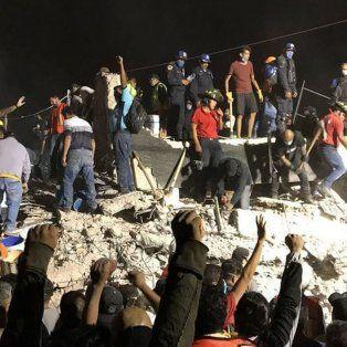 por el terremoto en mexico hay al menos 217 muertos