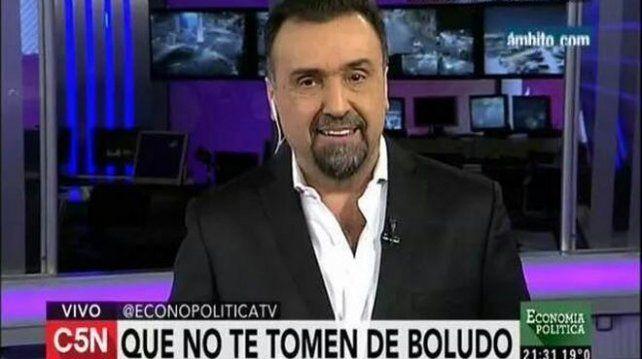 Con una serie de mensajes en Twitter, Roberto Navarro desnudó la interna que vive en C5N