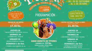 Santa Fe será escenario del II Festival Titereré