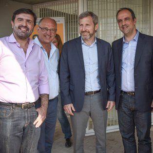 rogelio frigerio: las obras ahora son sinonimo de esperanza, no de corrupcion