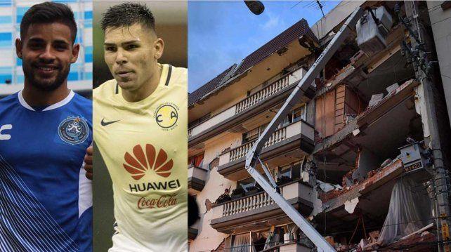 Terremoto en México: varios futbolistas argentinos contaron cómo lo vivieron