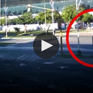 difunden un video que muestra el accidente de patricio pato gomez