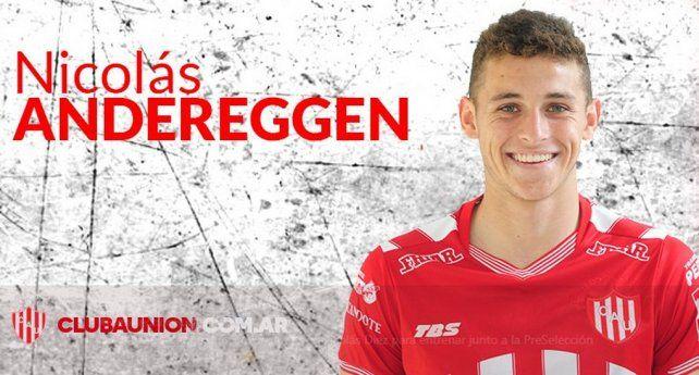 Andereggen fue citado a la Selección Sub 20
