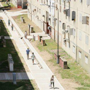 corte de agua en el fonavi de barrio centenario