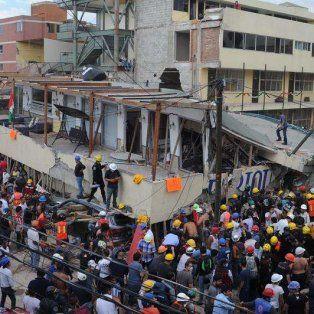 mexico: los socorristas estan cada vez mas cerca de frida sofia, la nina atrapada entre los escombros del colegio