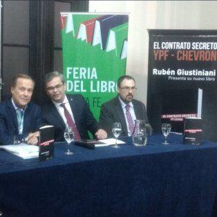 giustiniani: el libro sobre ypf-chevron es el triunfo del derecho al acceso a la informacion