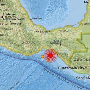 otro sismo en mexico: 5.8 grados en oaxaca