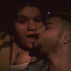¡On fire!: El video de Morena Rial y su novio a los besos