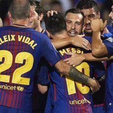 Barcelona sigue perfecto en la Liga