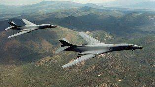 Bombardeos de EE.UU. pasan  cerca de Corea del Norte, que ve inevitable una guerra
