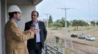 el municipio licito la pavimentacion del entorno de las torres procrear