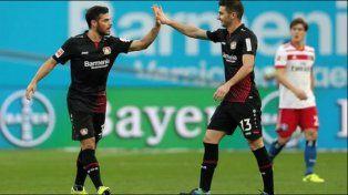 Gran debut del Pipa Alario en Bayer Leverkusen