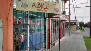 Comercio asaltado en barrio María Selva.