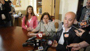 De izquierda a derecha: Noelia Vera Candioti (coordinadora del equipo socioeducativo)