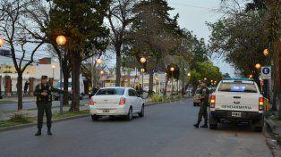 Megaoperativo de las fuerzas de seguridad nacionales y de la policía en la ciudad