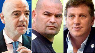 Gianni Infantino es Al Capone y Alejandro Domínguez es su secretario