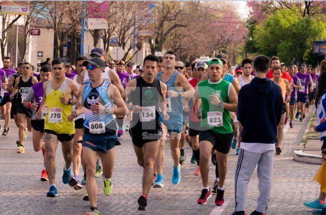 Podio santafesino en una nueva edición del Maratón Ciudad de Rafaela