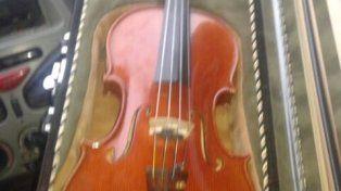 Los violines robados a músicos de la Orquesta Sinfónica aparecieron en Córdoba