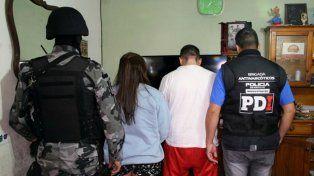 Desbarate. El pasado 19 de agosto se realizaron 17 allanamientos en Santa Fe y San Javier donde fueron detenidos los miembros de la organización abocada a vender drogas al menudeo.
