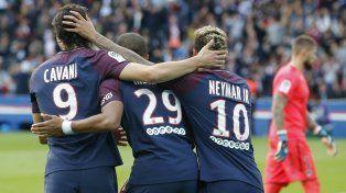 Un nuevo show de goles para el PSG en Francia